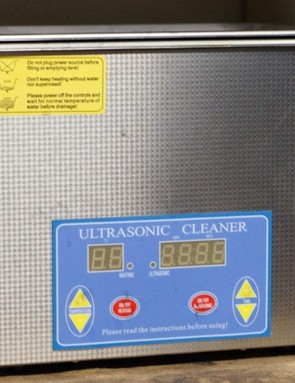 Ultrasonic cleaners can be bought online relatively cheaply – if you're paranoid about dirt, this is the right tool to have