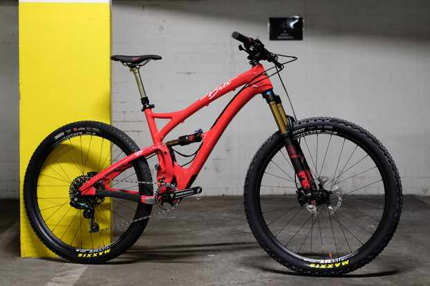 The Yeti Beti SB5c. You can take your jaws off the floor whenever you're ready