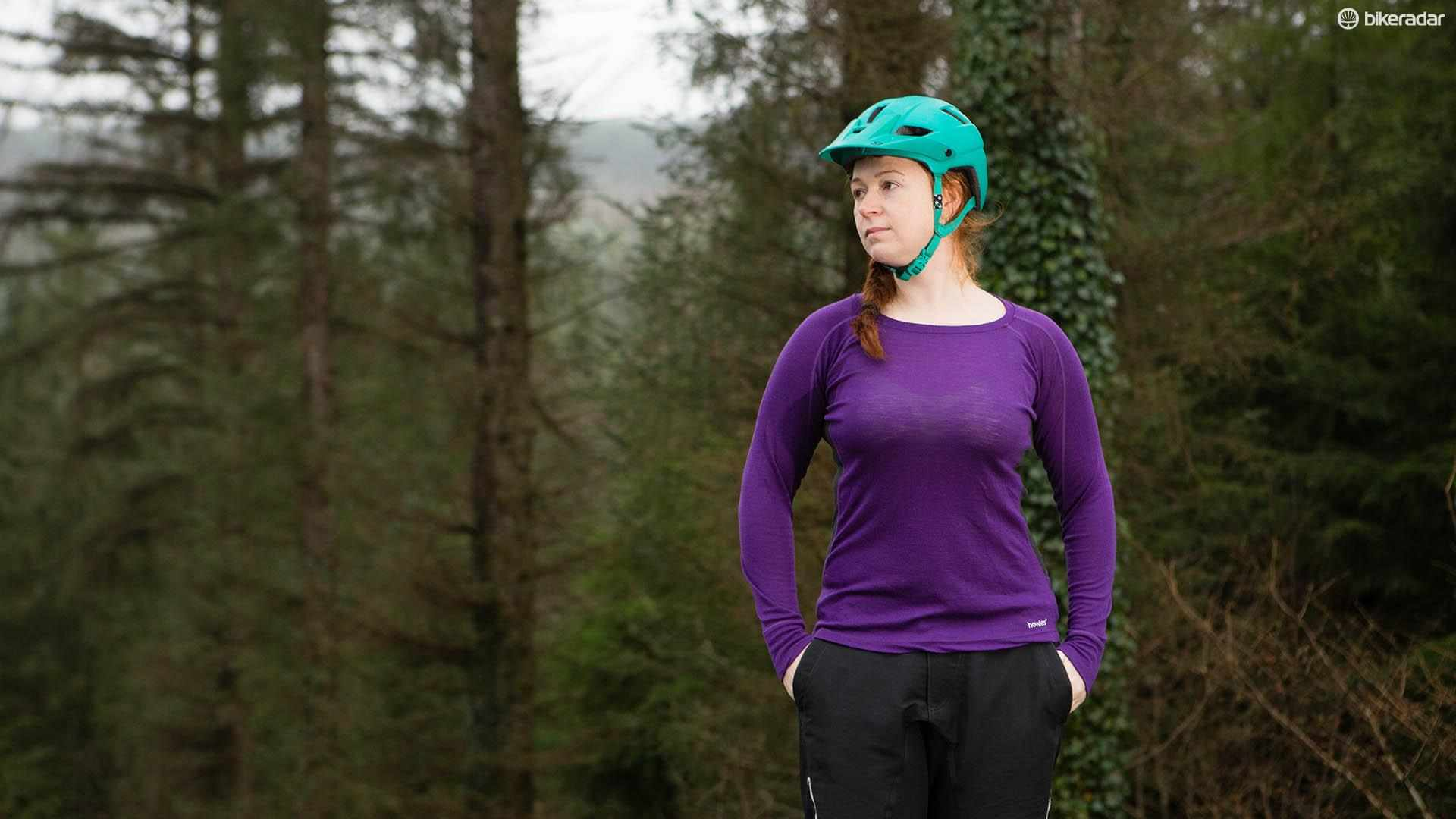 The Howies Women's Light Merino long-sleeve base layer