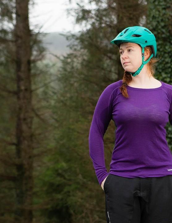 The Howies Women's Light Merino long-sleeve base layer