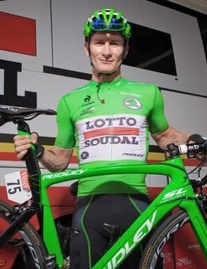 Andre Greipel with his TdF stage-winning Noah SL