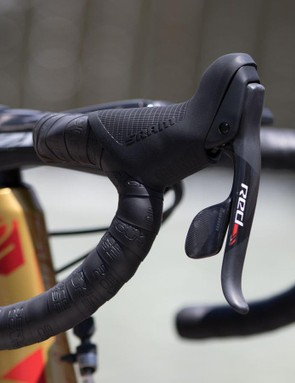 Drapac are currently using SRAM Red22 mechanical shifting, no sign of eTap wireless yet