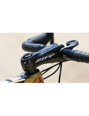 Sprinter proof - Brown uses a stiff Zipp Sprint SL stem