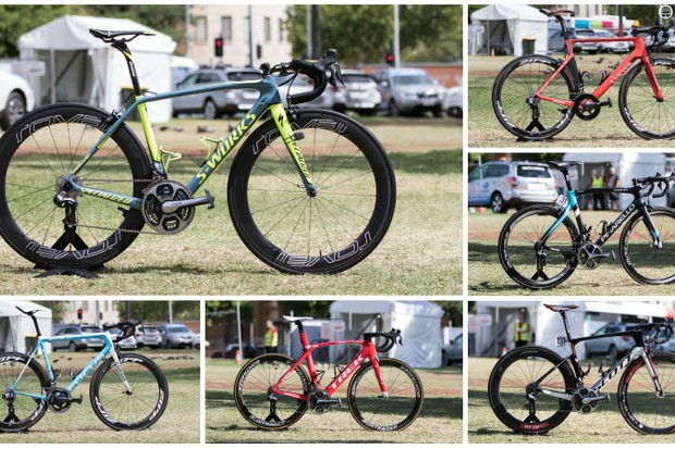 Bikes of the 2016 WorldTour, see them here