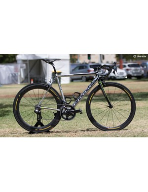 Cannondale Pro Cycling are on the recently updated SuperSix Evo