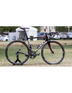 Ridley gets some nice new paint and a change of saddle sponsor, now Selle Italia