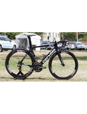 First year in the WorldTour, DimensionData are now on Enve cockpit components