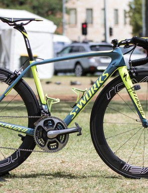 We're meant to be impartial, but we can't help it, we like this. Tinkoff in new colours