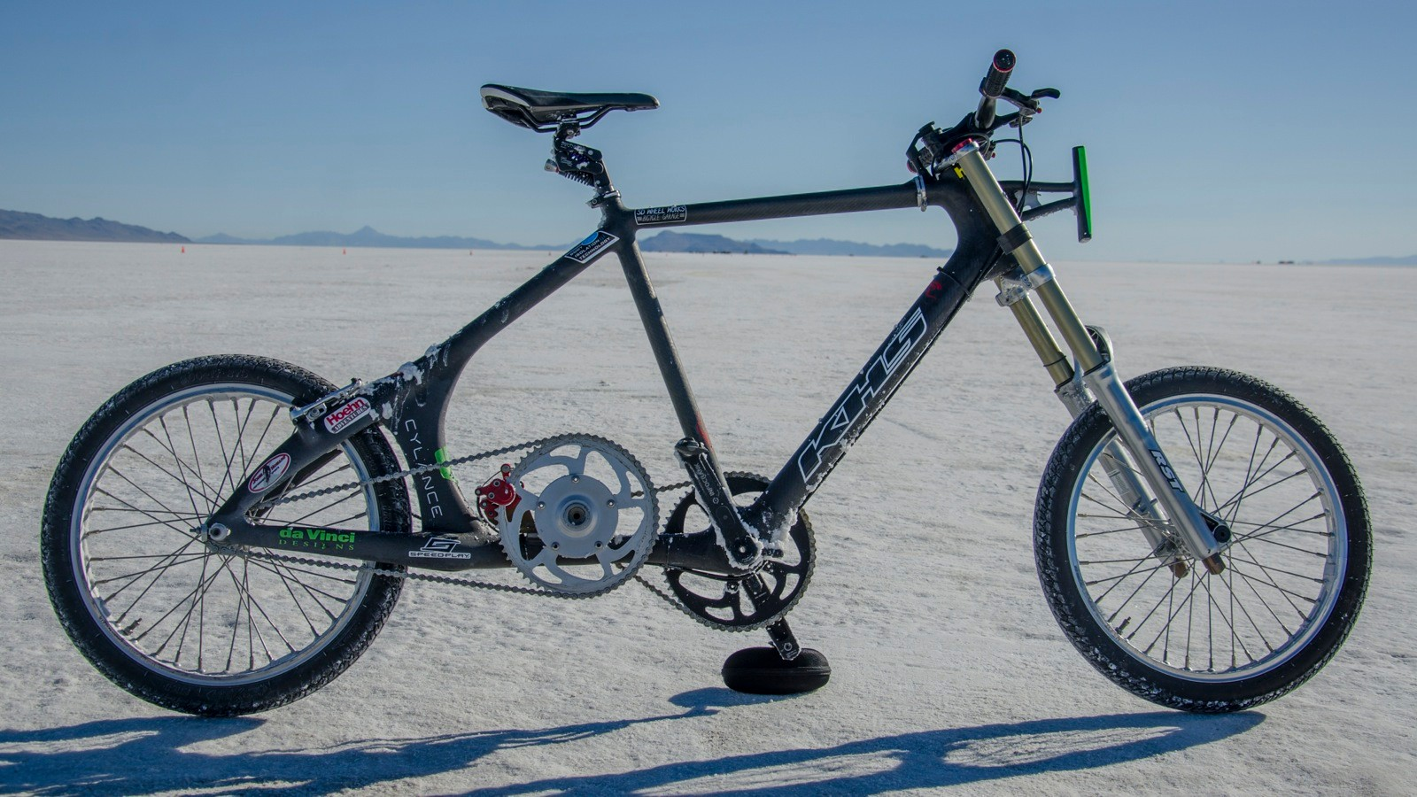 Denise Mueller's world-record-setting bike