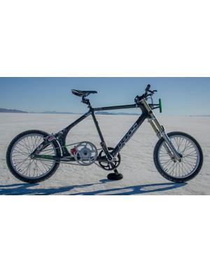 Denise Mueller's world-record-setting bike