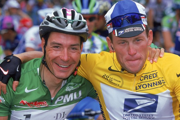 Erik Zabel and Lance Armstrong