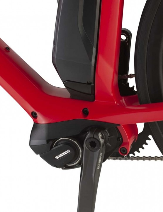 The improved Steps motors have altered mounting points for better power delivery