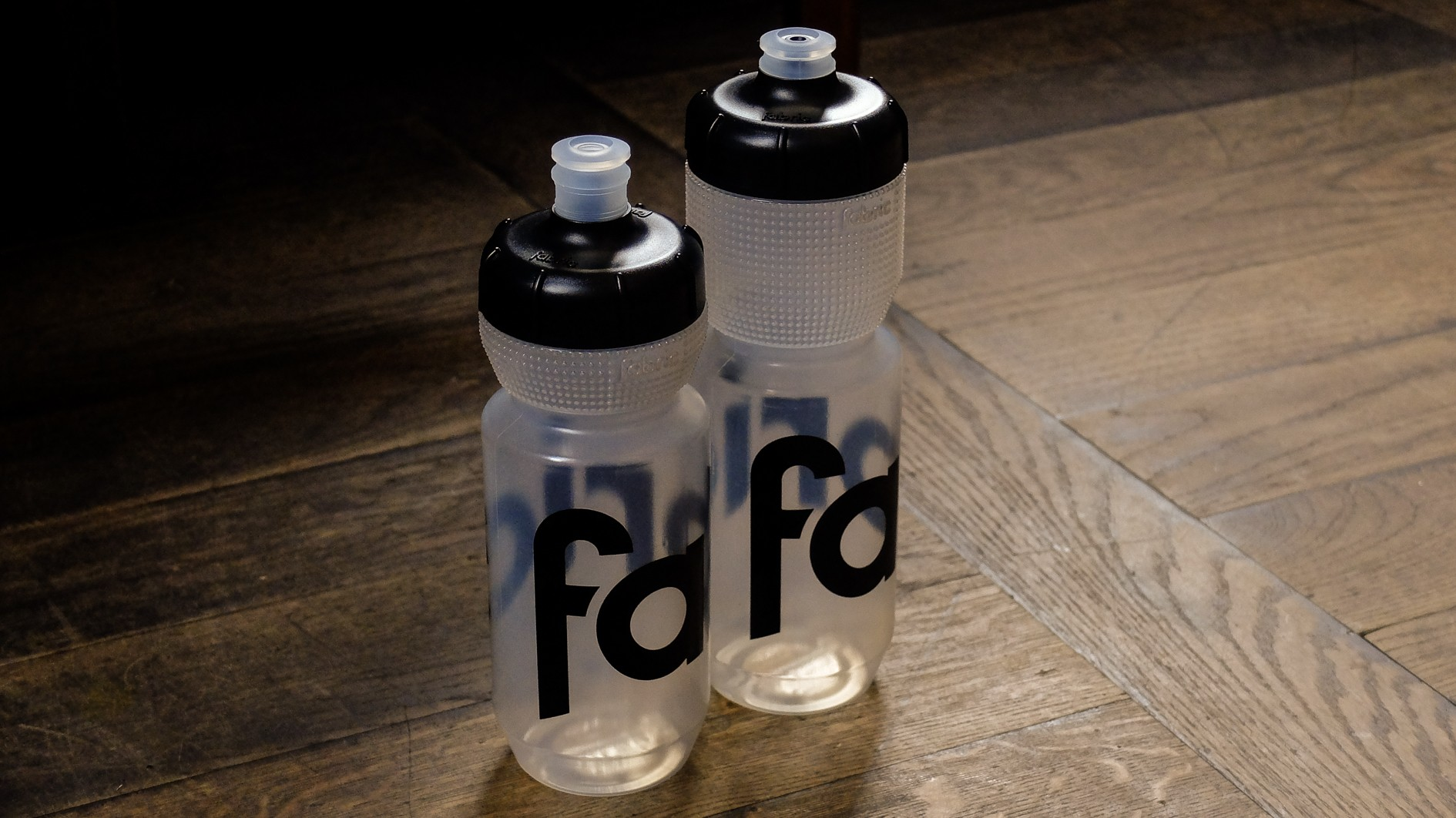 These cool new bottles see a super grippy area positioned just below the lid