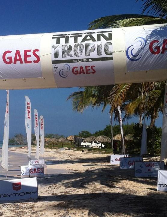 The finish on the white sand beaches of Cayo Jutias was stunning