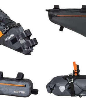Ortlieb's bikepacking range is fully waterproof and comes with several size options