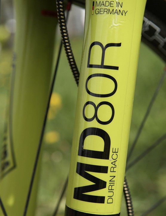 The Magura fork is a good starting point, but expect a lighter prototype before the Olympics