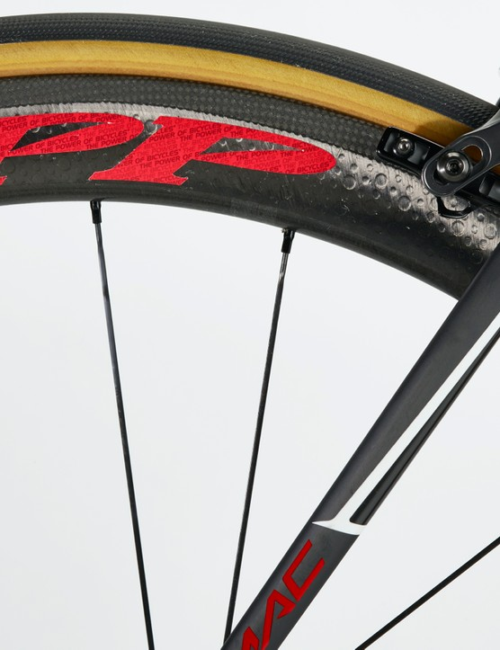 World Bicycle Relief's slogan 'the power of bicycles' features in small script within the Zipp logo