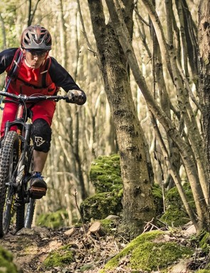 While XX1 Eagle is made for XC, X01 Eagle is pitched at the rough-and-tumble enduro market