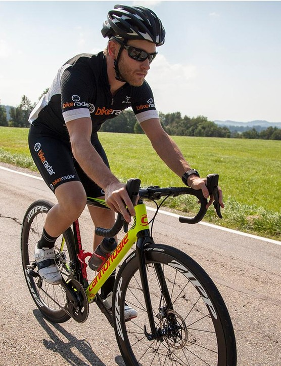 My brief first ride on SRAM's Red Etap HRD group was positive. Wireless shifting is nice, but it's the improvements to SRAM's hydraulic braking that stand out