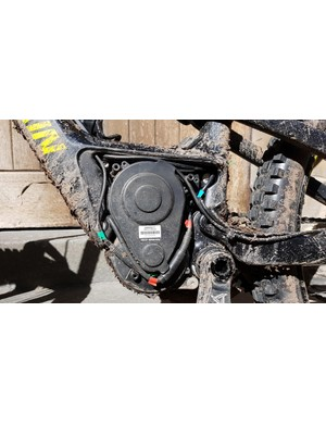 Easily removable motor