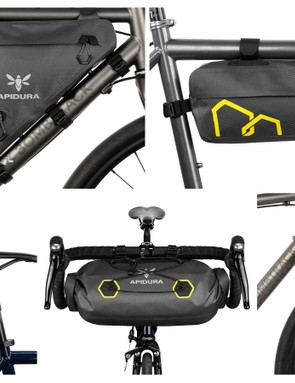 Apidura's expedition range is great if you need to back a lot on your bike