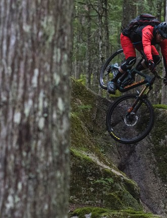 Enduro bikes like the Range C see trails and abuse on par with full-on downhill bikes