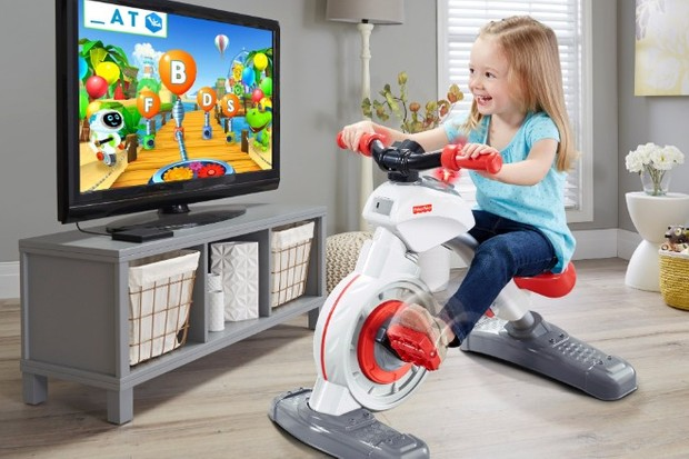 Better than just sitting in front of a TV. The Think & Learn Smart Cycle