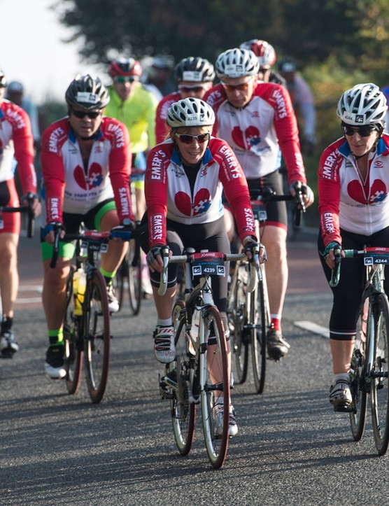 You've got the whole autumn and winter to train for the 100-mile closed road sportive ride