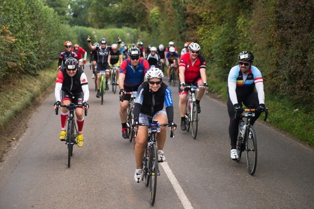 The ride now heads East from Birmingham city centre towards Warwickshire, taking in Solihull, Sandwell, Dudley and over 1,500m of climbing