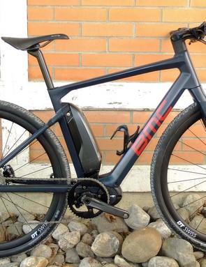 BMC's Alpenchallenge AMP Cross LTD is part road hybrid e-bike, part gravel bike