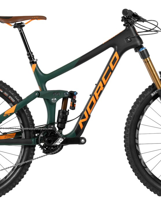 Enduro bikes are taking on downhill courses and the associated abuse