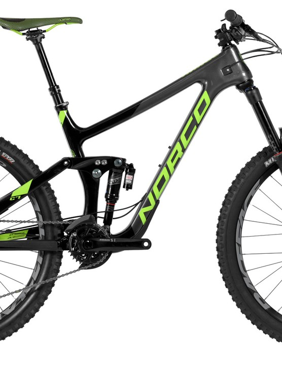 The middle option Range C 7.2 comes with RockShox dampers and SRAM X01 Eagle