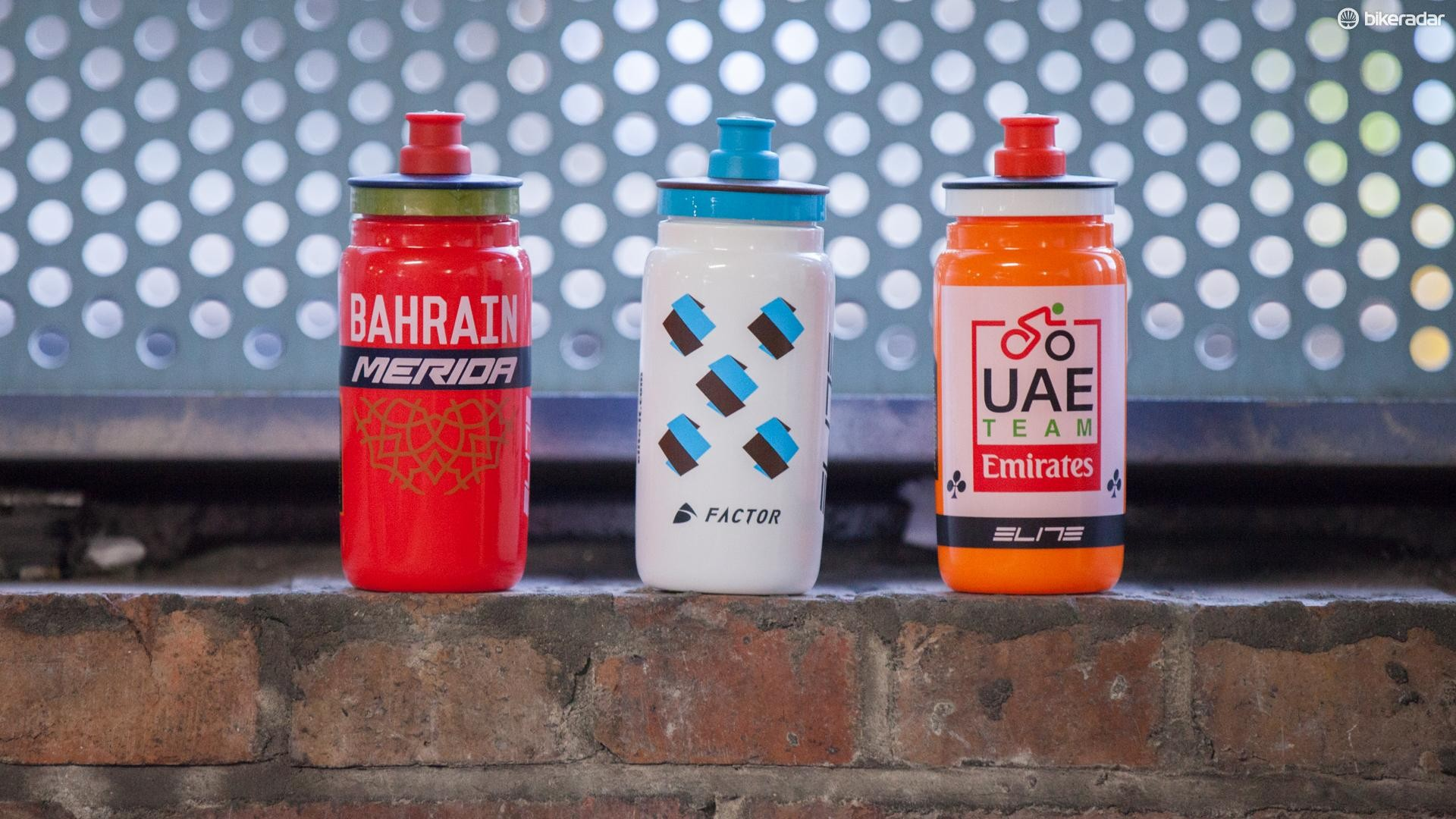 Elite Fly Team bottles