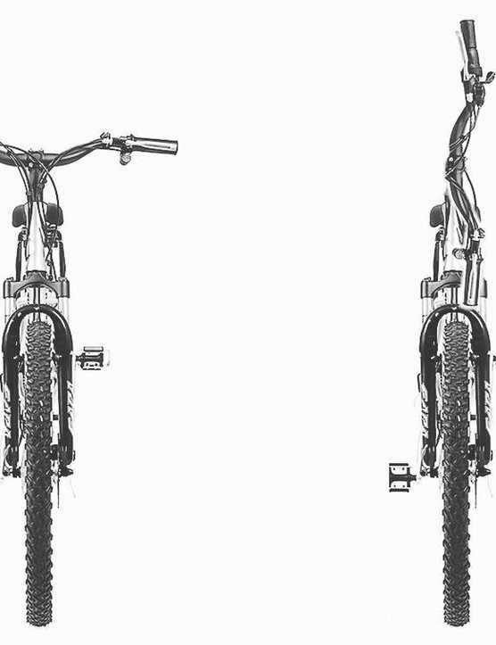 The Quicktwist stem allows you to rotate your bars 90 degrees