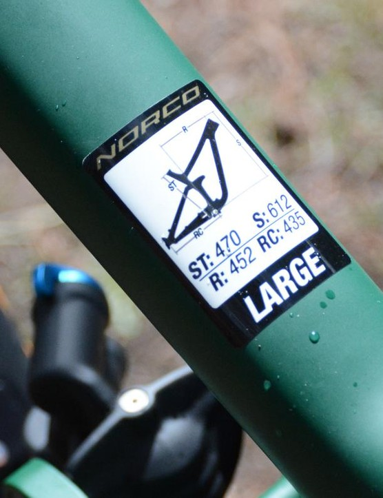 Long, low and slack, Norco's new Range C7.1 easily meets all the enduro requirements