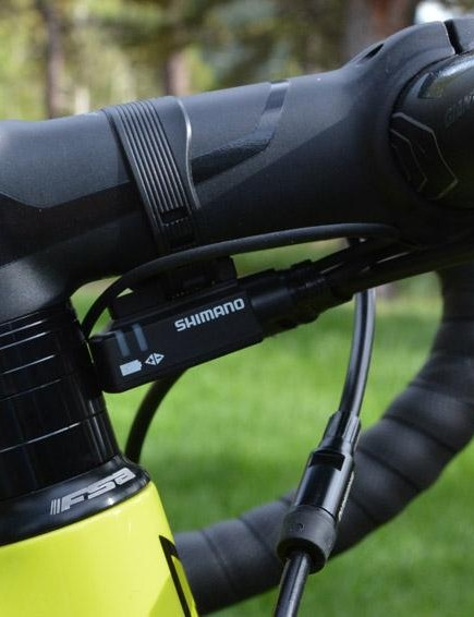 Shimano's Di2 electric drivetrains are incredible but the placement of the junction box still baffles me