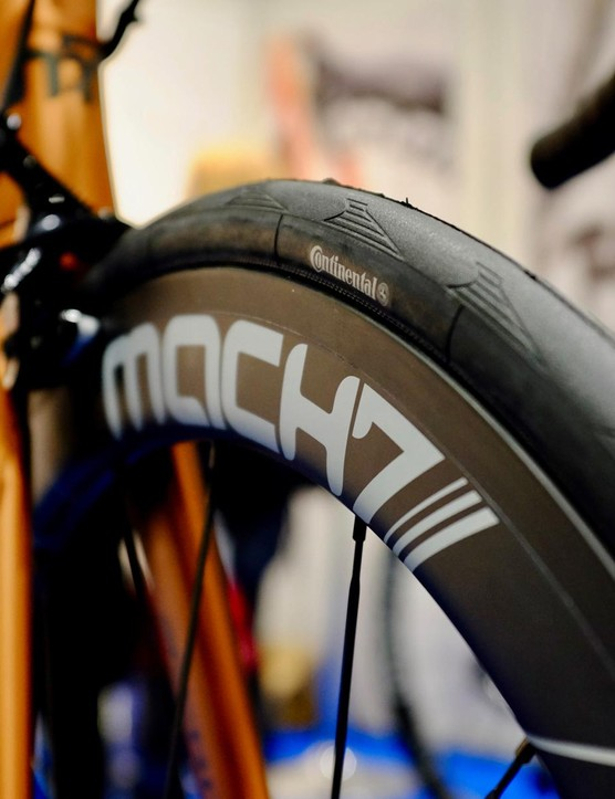 Mach7 was also showing some decently deep aero wheels