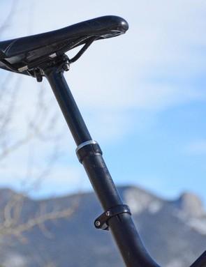 Bontrager's Drop Line post yields 125mm