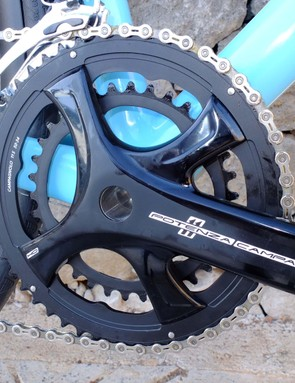 The Potenza H0 disc-specific crankset is required for the disc groupset