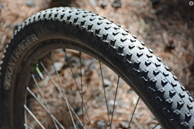 Bontrager's XR2 Team Issue TLR tire is all about going fast