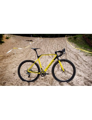 The all-new Canyon Inflite CF SLX 9.0 Pro Race cyclocross bike
