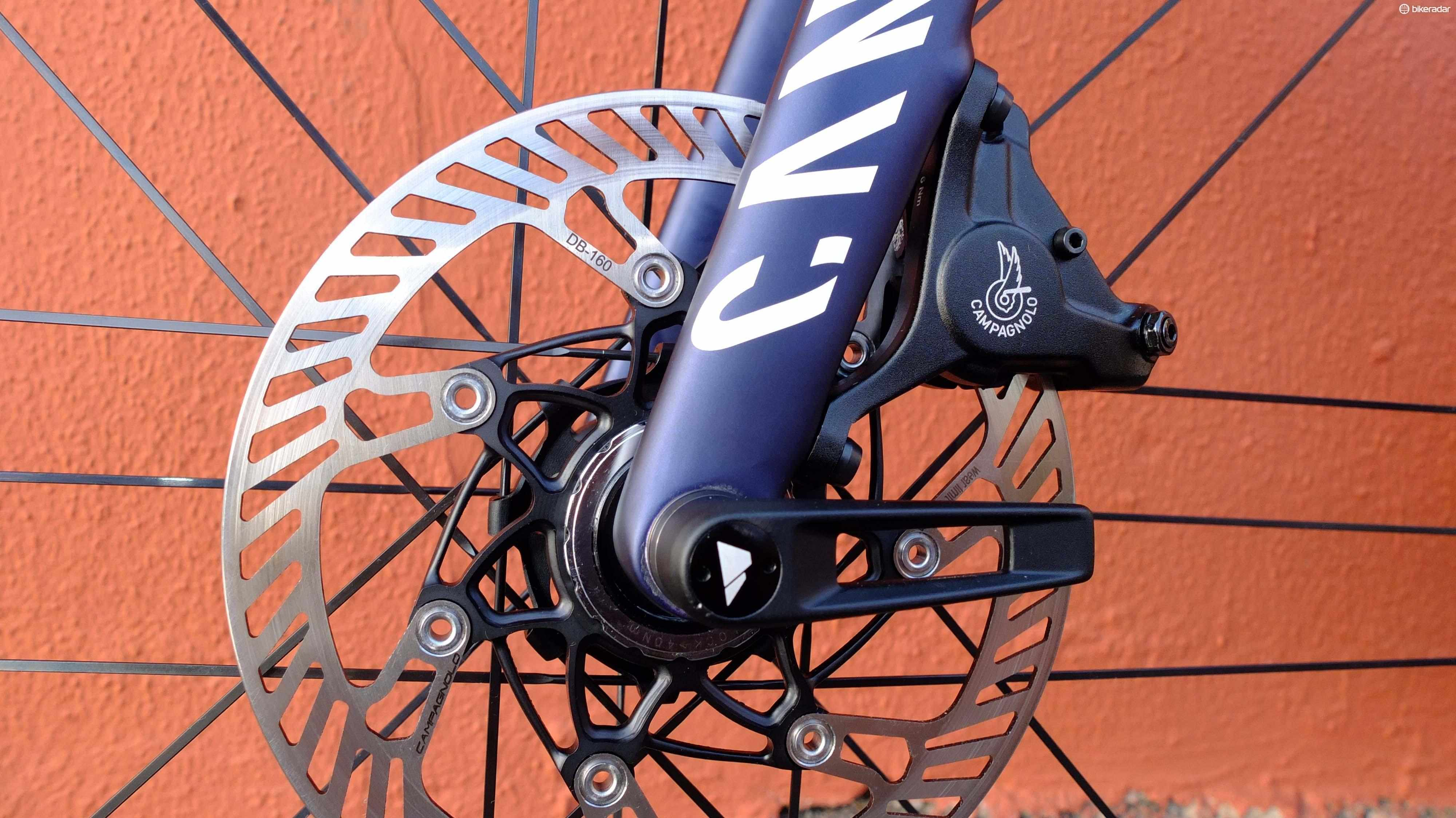 A year since we first saw them, Campagnolo's disc brakes have finally landed