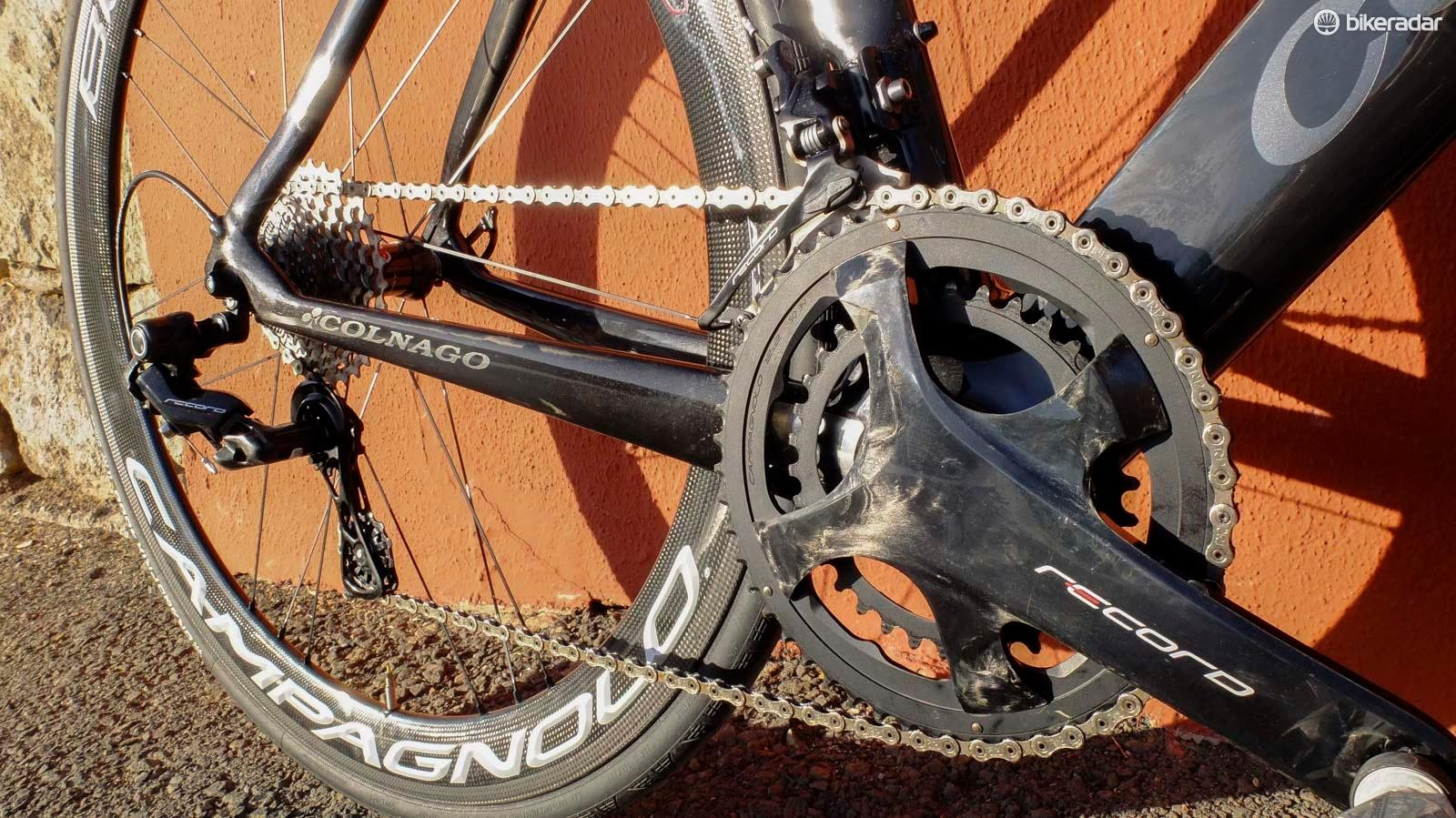 Campagnolo now has 12-speed Record and Super Record groupsets