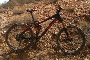 Ellsworth's Rogue Sixty features 160mm travel front and rear