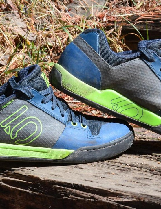 Five Ten Freerider Contacts are all-mountain flat pedal shoes