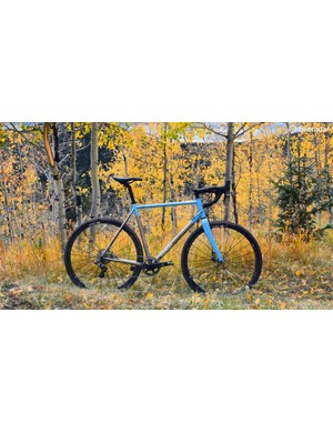 Fall means cyclocross and Foundry's titanium Flyover is ready