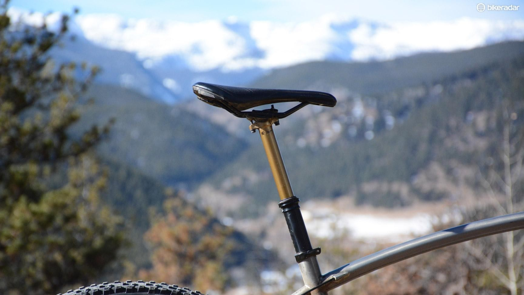 Fox's Transfer Factory dropper post has the performance and reliability to make it possibly the best dropper available