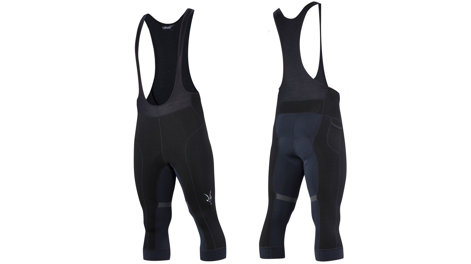 Ibex's 3/4 Bib Knickers are built for the tricky rides in spring and fall