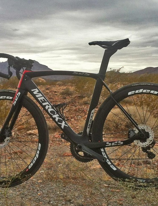 This is Eddy Merckx's EM525 Disc Performance race bike for 2017