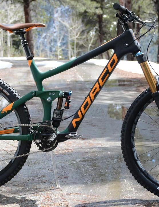 Here's Norco's 2017 enduro beast, the Range C 7.1